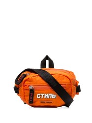Heron Preston Logo Patch Belt Bag Orange