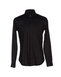 Messagerie Shirts Shirts Men Black