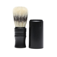 Imperial Barber Products Imperial Travel Shave Brush Black