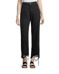 Dl1961 Hepburn High Rise Wide Leg Jeans Black