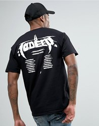 10.Deep 10 Deep T Shirt With Tour Back Print Black