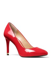 Michael Michael Kors Ashby Patent Leather Pumps Crimson