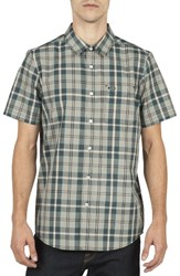 Volcom Men's Plaid Sport Shirt