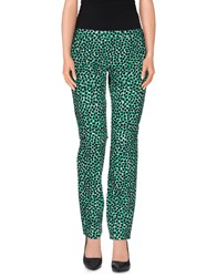 Msgm Trousers Casual Trousers Women Green