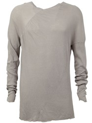 Lost And Found Longsleeved T Shirt Grey