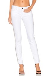 Etienne Marcel Distressed Studded Skinny White