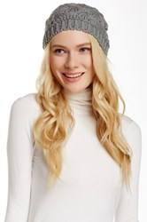 14Th And Union Raised Curl Beanie Gray