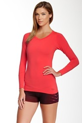 Ryu Tanto Compression Long Sleeve Top Red