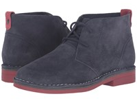 Hush Puppies Cyra Catelyn Navy Suede 1 Women's Lace Up Boots Blue