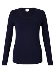 East Long Sleeve Jersey Top Navy