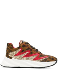 Strategia E2214 Leopard Print Sneakers 60