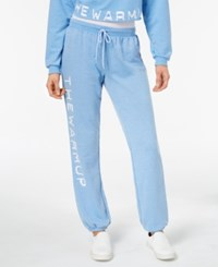 Jessica Simpson The Warm Up Burnout French Terry Joggers Coastal Lights