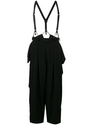 Y's Wide Leg Trousers Black