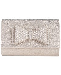 Inc International Concepts Leesie Bow Clutch Only At Macy's Champagne
