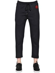 Markus Lupfer Lips Patch Cotton Sweatpants