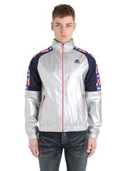 Kappa Authentic Zilcar Zip Up Ripstop Jacket