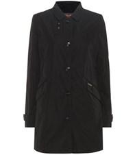 Woolrich Travel Trench Coat Black