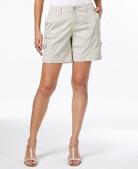 Style And Co Comfort Waist Cargo Shorts Only At Macy's Stonewall