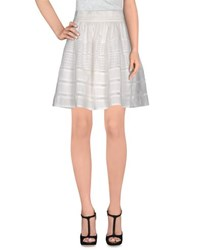 Jovonna Skirts Knee Length Skirts Women White
