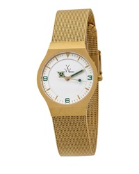 Toywatch Golden Mesh Bracelet Watch 28Mm