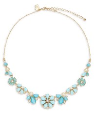 Kate Spade Azure Allure Small Bib Necklace Turquoise