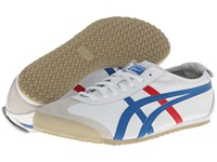 Onitsuka Tiger By Asics Mexico 66 White Blue Lace Up Casual Shoes