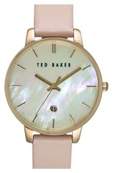 Women's Ted Baker London Leather Strap Watch 40Mm