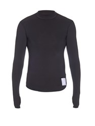Satisfy Compression Long Sleeved T Shirt Black
