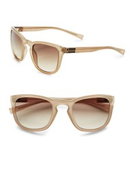 Calvin Klein 53Mm Square Sunglasses Taupe