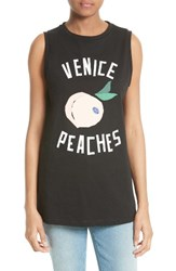 Etre Cecile Women's Venice Peaches Graphic Tank