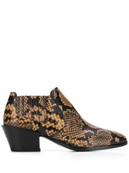 Tod's Snake Effect Ankle Boots 60