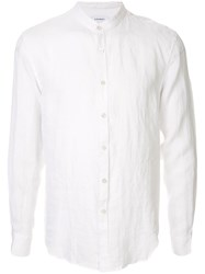Venroy Grandad Collar Shirt White