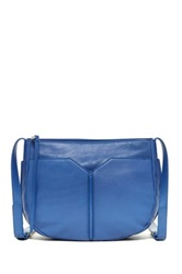 Christopher Kon The Edge Leather Crossbody Blue