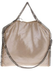 Stella Mccartney 'Falabella' Fold Over Chain Tote