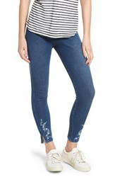 Lysse Cooper High Waist Denim Leggings Mid Wash