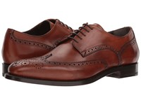 Canali Wingtip Oxford Cuoio Shoes Brown