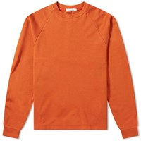 Nanamica Crew Neck Lightweight Sweat Orange