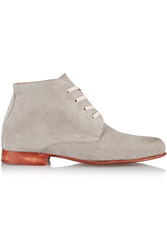 Esquivel Waris Suede Ankle Boots Gray