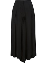 Barbara I Gongini Loose Fit Culottes Black