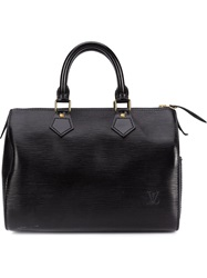 Louis Vuitton Vintage 'Speedy 25' Tote Black