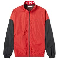 Givenchy Collar Logo Track Jacket Red