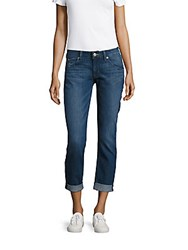 Hudson Jeans Straight Flood Cuff Pacific