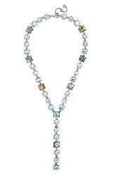 Baublebar 'Princess Gem' Y Chain Necklace Abalone Antique Silver