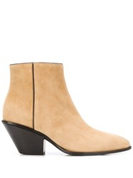 Giuseppe Zanotti Pointed Ankle Boots Neutrals