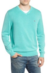 Vineyard Vines Cotton And Cashmere V Neck Sweater