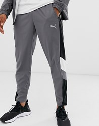 Puma Training Reactive Packable Sweatpants In Gray