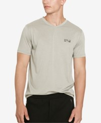 Polo Ralph Lauren Polo Sport Men's Thermovent V Neck T Shirt Heather Grey