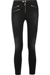 Rag And Bone High Rise Skinny Jeans Charcoal