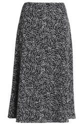 Bailey 44 Printed Crepe Midi Skirt Black