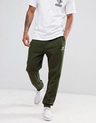 Converse Skinny Joggers In Green 10009142 A01